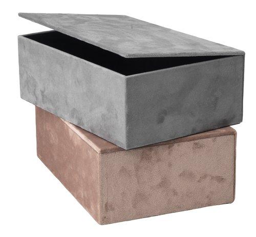 Κουτί αποθήκ. GREGERS Π25xΜ17xΥ9cm διάφ.