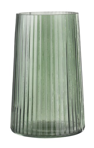 Vase ROY Ø13xH20cm Glas grün