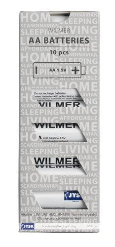 Batterien WILMER AA AM3 10Stk/Pck
