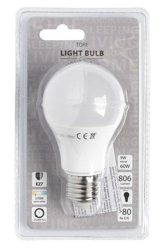 Λαμπτήρας TORE 9W E27 LED 806 lumen