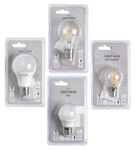 Žarulja TORE 4W E27 LED 400 lumen