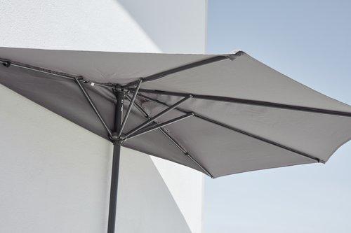 Parasol na balkon KOLDING S270xD135 sz.