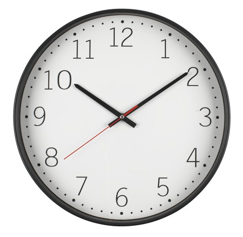 Wall clock TOBIAS D41cm silent movement