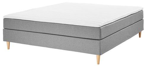 Boxspring krevet160x200 BASIC C10 sv.si.