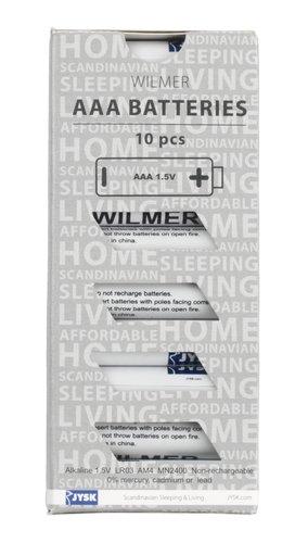 Batteries WILMER AAA 10 pack