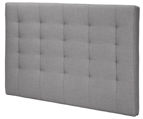 Sengegavl H50 STITCHED 180x125 grå-20