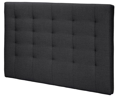 Sengegavl H50 STITCHED 150x125 grå-47