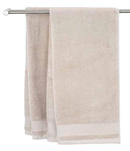 Guest towel NORA 40x60 sand