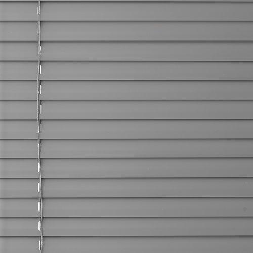 Jaloezieën BRU 80x160cm aluminium grijs