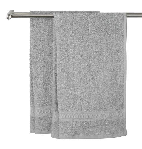 Кърпа UPPSALA 65x130 см светлосива