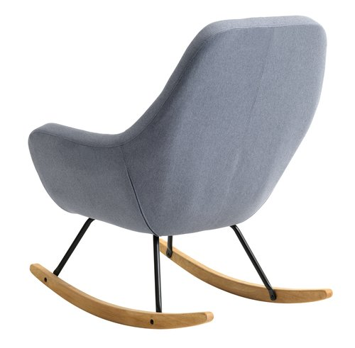 Rocking chair NEBEL light blue