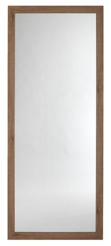 Lustro VEDDE 74x180 dąb dziki