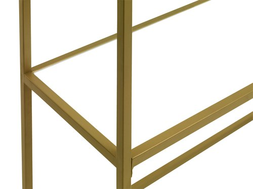 Console table PANDRUP 30x110 white/gold