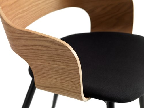 Dining chair HVIDOVRE natural/black