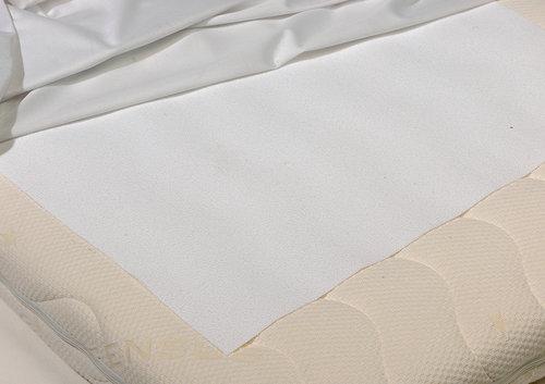 Metervare vådliggerlagen 100cm hvid