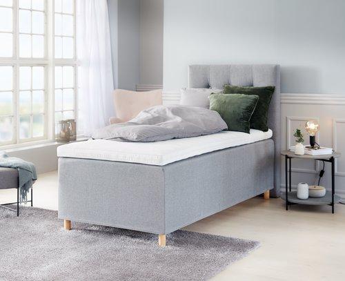 Континентальне ліжко 90x200см PLUS C80