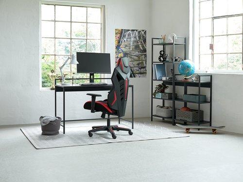 Gaming chair JENSLEV black/red