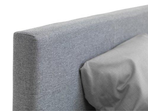Sengeramme EGERSUND 140x200cm lys grå