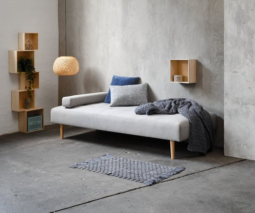 Daybed NOREFJELL licht grijs