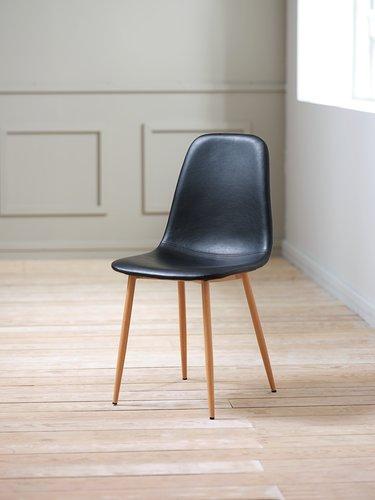 Кухненски стол JONSTRUP черен/дъб