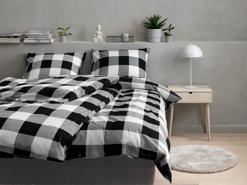 Lenjerie de pat+cearsaf SCOTTI 200x220