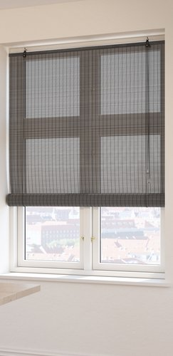 Roller blind bamboo BYRE 80x160 grey