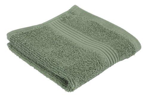 Face cloth KARLSTAD army green KRONBORG