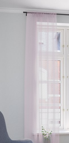 Zavjesa LYA 1x140x245 ljubičasta