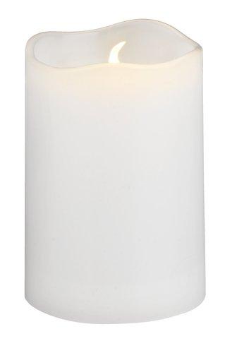 Świeca SOREN Ś5xW8cm biały LED