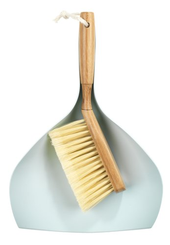 Dustpan and brush MILO w/bamboo handle