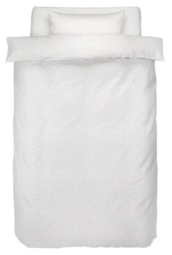 Пост. белье HELENE 140x200 сатин белый
