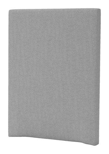 Sengegavl GOLD H20 90 plain lys grå