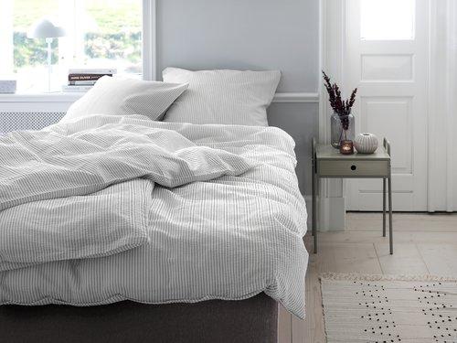 Lenjerie de pat STINNE creponată 1 pers.