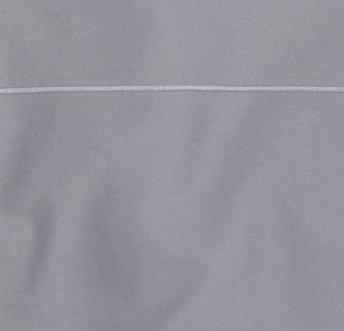 Dekbedovertrek ALVA satijn 200x220 grijs