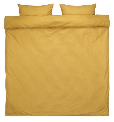 Dekbedovertrek ELLEN 200x220 geel