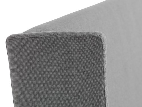 Bedframe KUNGSHAMN 160x200 licht grijs