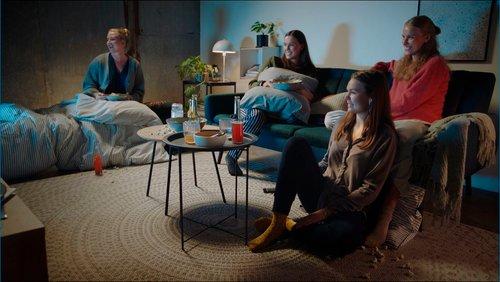 Filmkveld med venninnene