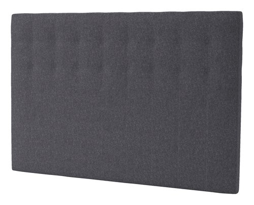 Sänggavel 160x125 H50 STITCHED grå-26