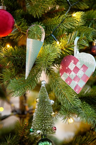 Božićni ukras OLIVIN 2 kom/p