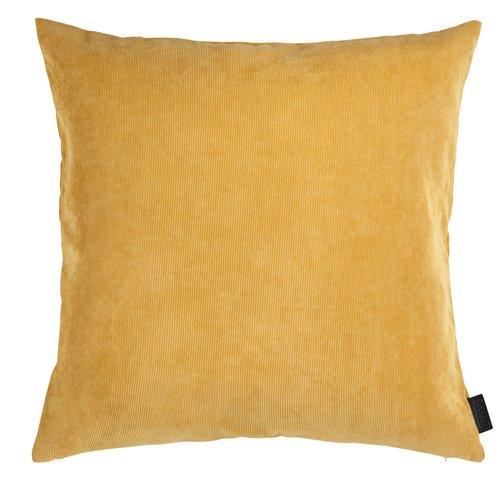Cushion cover DUSKULL 50x50 yellow