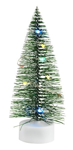 Kerstboom GERE Ø6xH15cm m/10LED