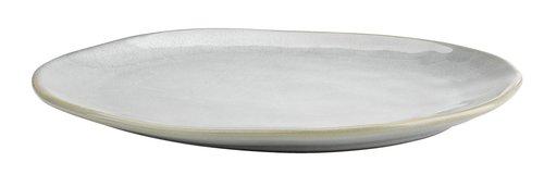 Assiette TONE l30xL25xH3cm gris