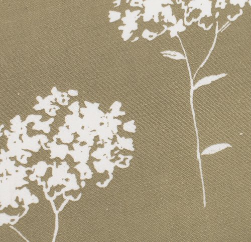 Stof VALLOXEN 5m/pk blomst oliven