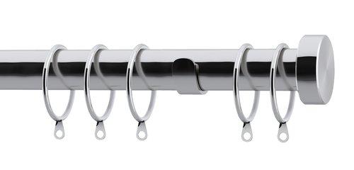 Curtain pole KARATS 200cm silver