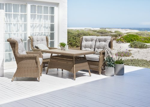 Loungetafel FALKENBERG B81xL124 naturel