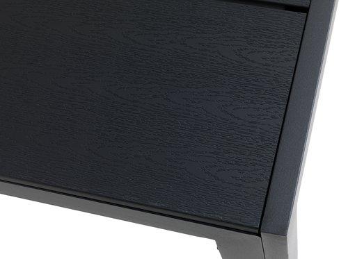Stůl MADERUP Š90xD90 černá