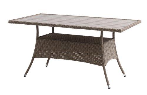 Stôl STRIB Š84xD150 prírodná