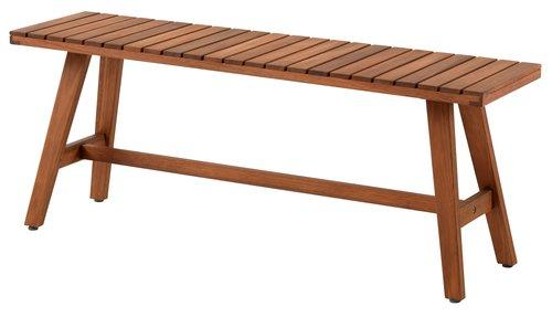 Panca GANGESBRO L110xP30 hardwood