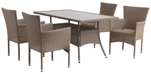 Table STRIB W84xL150 nature