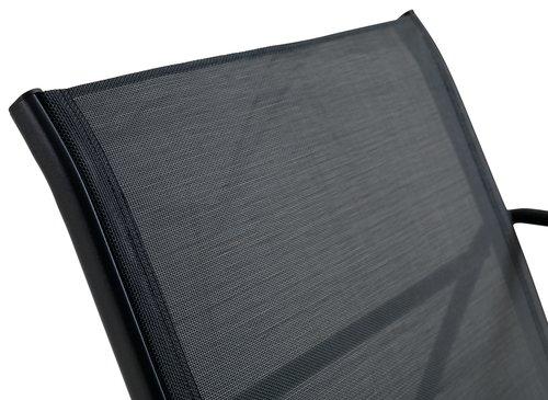 Ülőgarnitúra YDBY 4-személyes fekete